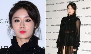 Ji Yeon diện đồ xuyên thấu táo bạo