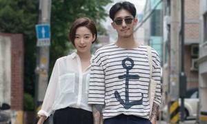 Đồ đôi mùa thu chất lừ của giới trẻ Hàn Quốc