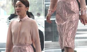 Hot or not: Châu Tấn diện váy nhàu như bị vò nát