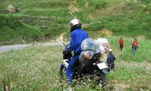 Hình ảnh xấu xí của một số dân phượt khi đi Hà Giang