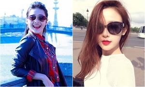 Hot girls Việt sành điệu khi du lịch nước ngoài