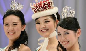 Những hoa hậu Nhật bị 'ném đá' vì nhan sắc xấu lạ