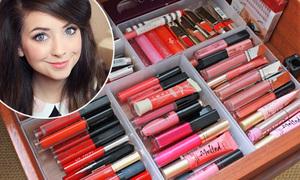 Kho mỹ phẩm của chuyên gia make-up 9x đình đám thế giới