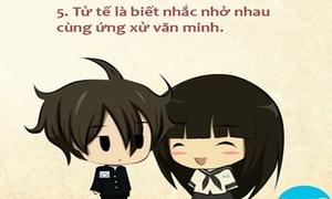 Tranh chibi 'Tôi tử tế' chất lừ của teen chuyên Nguyễn Trãi