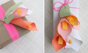 Trang trí hộp quà ngập hoa ngày 20/11 tặng thầy cô