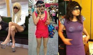 Những anh chàng kỳ quặc thích mặc đồ nữ