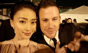 Sao Việt 19/11: Ngô Thanh Vân thân thiết bên Channing Tatum