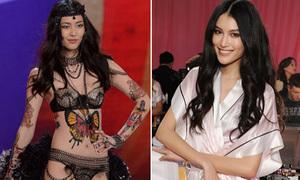4 chân dài châu Á trẻ măng khuấy đảo sàn diễn Victoria's Secret