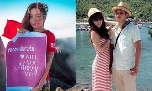 'Bắt sóng' 9x leo tận đỉnh Fansipan cầu hôn bạn trai