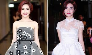 Tuyển tập váy tùng xòe xinh như công chúa của Hòa Minzy