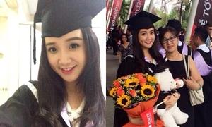 Miss Teen Xuân Mai rạng rỡ tốt nghiệp RMIT