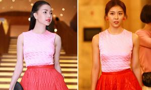 Trà Ngọc Hằng sắm váy xa xỉ giống hệt Ha Ji Won