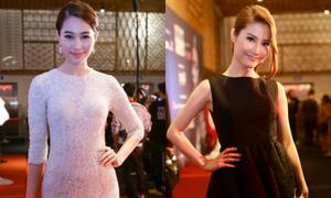 Hoa hậu Thu Thảo, Diễm My 9x kín đáo vẫn hút ánh nhìn