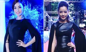 Mai Hồ đụng Chi Pu váy tay cape dài siêu 'tốn vải'