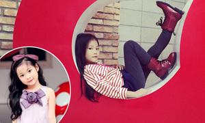 Hot girl nhí 7 tuổi mặc chất lừ không kém sao Hàn