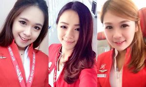 Top 10 nữ tiếp viên hàng không hot nhất Malaysia