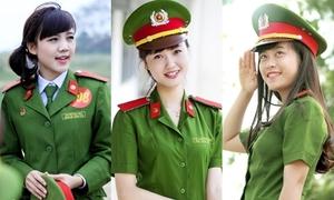 7 cô nàng xinh như hot girl của Học viện Cảnh sát