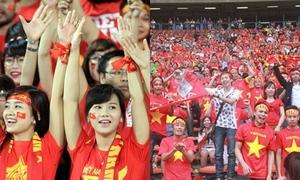 CĐV Việt Nam tin tưởng vào chiến thắng lượt về trước giờ G
