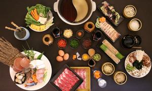 Lẩu Shabu Shabu và Sukiyaki cho mùa đông ấm áp