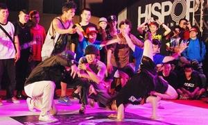 Tín đồ hip hop Sài thành đọ sức tranh suất thi thế giới