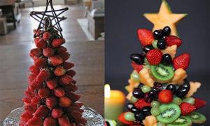 10 cách tạo hình cây thông ngon lành từ thức ăn (2)