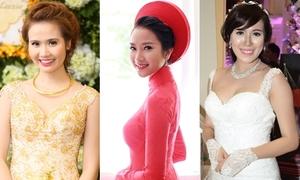 Chấm điểm độ lung linh của 6 cô dâu hot girl 2014