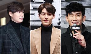 Dàn sao khủng 'chen chúc' đi xem phim của Kim Woo Bin