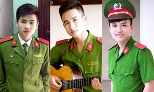8 chàng hot boy cảnh sát khiến phe kẹp nơ rung rinh