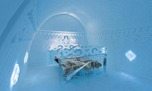 Khách sạn băng đẹp ngỡ ngàng như cung điện Bà chúa tuyết