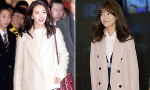 3 gợi ý chọn áo dạ mùa đông đúng mốt như sao Hàn