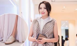 Hot or not: Hoa hậu Kỳ Duyên phối đồ cọc cạch dự tiệc