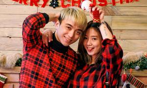 Diện đồ đôi đón Noel chất lừ giống Soobin, Sa Lim