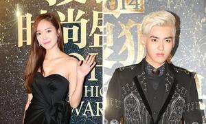 Jessica, Kris thân thiết trong lễ trao giải ở Trung Quốc