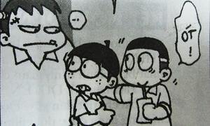 Fun pic: Gặp họa vì tội tham ăn