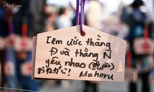 Tác giả ảnh lên tiếng về 'những điều ước nhảm' trên bùa gỗ Nhật
