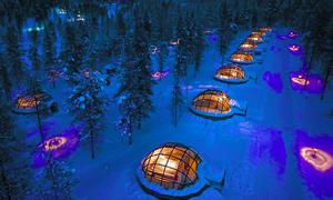8 khách sạn băng tuyết lạnh run mà cực hút khách