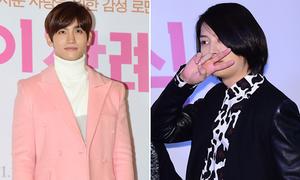 Chang Min diện cây hồng, Hee Chul tạo dáng nữ tính