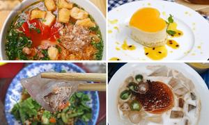 Ăn gì trong những ngày Hà Nội ra sức 'đỏng đảnh'?