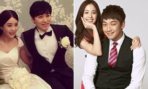 Sung Min khoe ảnh trăng mặt, Bi Rain hạnh phúc gặp Kim Tae Hee