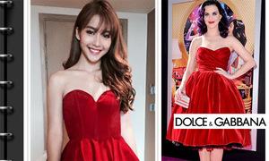 Những chiếc váy phiên bản lỗi khiến xì ta, hot girl Việt mất điểm