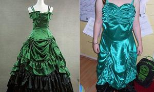 'Đắng lòng' khi mua váy dạ hội qua mạng
