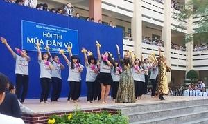 Teen Phú Nhuận đọ tài nhảy dân vũ cực sung