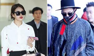 Suzy khoe dáng sang chảnh, G-Dragon diện áo lạ mắt