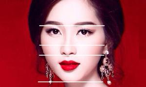 Đo tỷ lệ vàng xem ai mặt đẹp như Hoa hậu