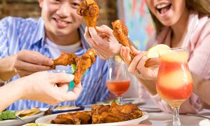 Cách ăn cánh gà nhanh gọn, nguyên thịt