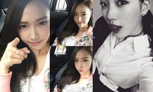 Sao Hàn 25/1: Jessica da đẹp không tỳ vết, Suzy le lưỡi quyến rũ