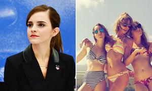 Taylor Swift khoe dáng bikini, Emma Watson đẹp học thức