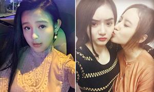 Sao Việt 25/1: Phương Trinh 'mi' em gái tình cảm, Huyền Baby trẻ như tiểu học