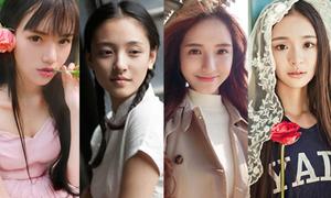 4 nữ sinh tuyệt sắc tranh ngôi hoa khôi ĐH Vũ Hán