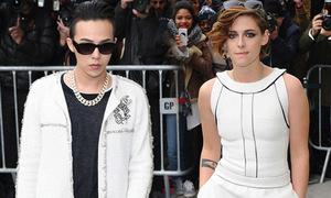 G-Dragon đọ đẳng cấp với Kristen Stewart tại Paris